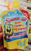 Granarold Squeeze Spongebob Vanillecreme