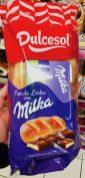 Milka Dulcesol Schokoriegel fürs Brot