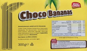 Mr Chock Schokobananen Barcode