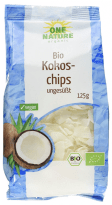 One Nature Bio Kokoschips ungesüßt 125 Gramm 1 Kilo - 11€