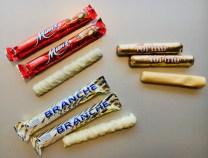 Schweizer Prügeli mit weißer Schokolade von Munz-Coop und torino