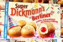 Storck Super Dickmann's Berliner Gefüllte Schaumküsse mit Himbeerfüllung