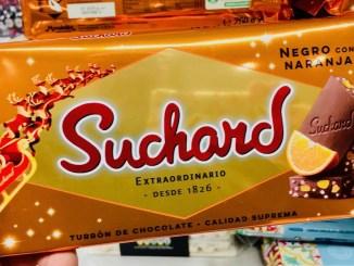 Suchard Negro con Naranja Tafelschokolade mit Orange