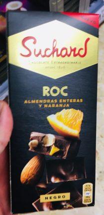 Suchard ROC Mandel mit Orange Tafelschokoade