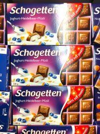 Trumpf Schogetten Joghurt-Heidelbeer-Müsli 100g