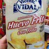 Vicento Vidal Huevo Frito Ovo Frito Ei-Chips