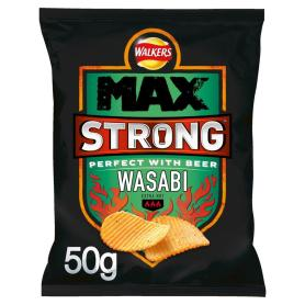 Walkers Max Strong Wasabi Kartoffelchips