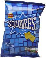 Walkers Squares Salt+Vinegar Snack