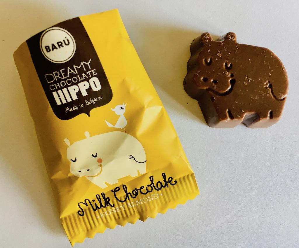 Barú Dreamy Chocolate Hippo Belgium Milk Chocolate Honey Almond