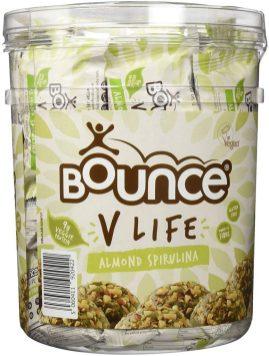 Bounce V Life Almond Spirulina Mandel Algensnack