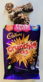 Cadburry Crunchie Rocks Choco Crossies mit Karamell