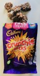 Cadburry Crunchie Rocks Choco Crossies mit Karamell
