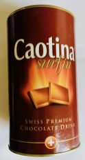 Caotina surfin Swiss Premium Chocolate Drink Dose