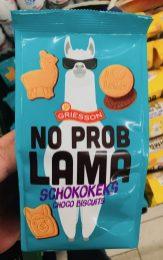 Griesson No Problama Schokokeks Lama Motiv