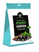 MakuLaku Happy Reindeer Organic Licorice mit Mint und Kakao