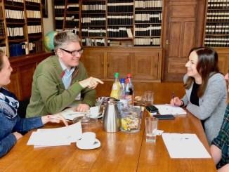 Im Gespräch mit den Flavoristinnen von Bell - Frau Heini, Frau Hoffmann und Frau Lange-schmäler
