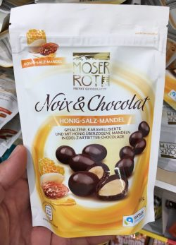 Moser Roth Noix+Chocolat Honig-Salz-Mandel Fairtrade