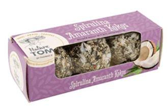 Nature Tom Spirulina Amaranth Kokos Balls Algen-Snack