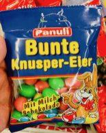 Panuli Bunte Knusper-Eier mit Milch-Schokolade