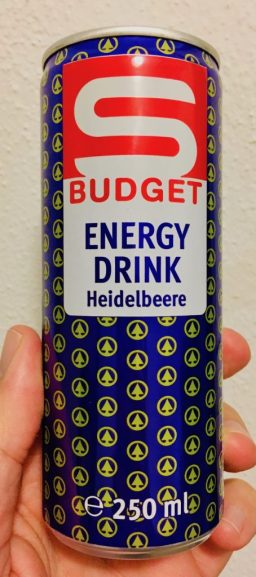 Spar Budget Energy Drink Heidelbeere 250 ML