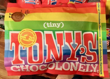 Tony's Tiny Chocolonely Rainbow