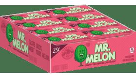 Und ein ganzes Tray mit Mr Melon von 1908 Candy.