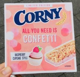 Verpackung Corny