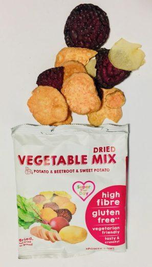 Dried Vegetable mix Kartoffel Rote Beete Süßkartoffel