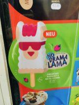 Eiskrem No Drama Lama Cheesecake Rasberry Salted Caramel