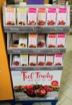 Feel Fruity and Bite me Display