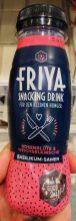 Friya Snacking Drink für den kleinen Hunger Rosenblüte&Weichselkirsche Basilikum-Samen