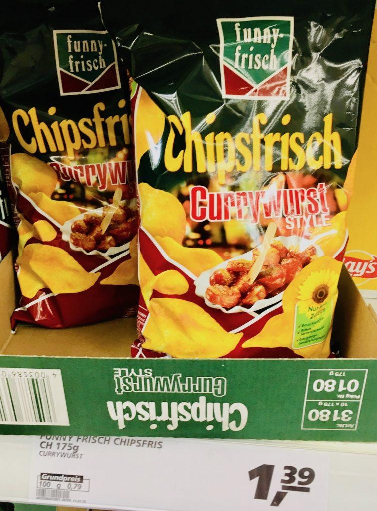 Funnyfrisch Chipsfrisch Currywurst Style 175 G