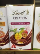 Lindt Creation Mango-Maracuja Tafelschokolade