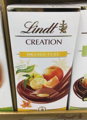 Lindt Creation Orange-Yuzu Schokolade