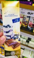 Lindt Joghurt-Heidelbeer-Vanille Schokolade