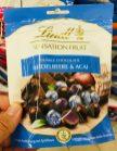 Lindt Sensation Fruit Dunkle Schokolade Heidelbeere+Acai