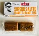 The Grown Up Chocolate Company Superb Salted Peanut Caramel Bar