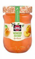 Schwartau bringt im Sommer 2019 zwei neue Marmeladen mit weniger Zucker heraus: Erdbeere und Aprikose (für die österreichischen Leser: Marille).