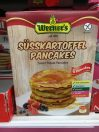 Werner's Süßkartoffel Pancakes 6 Pancakes