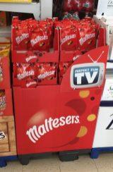 mars Maltesers Display Perfekt zum TV
