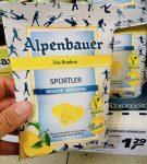 Alpenbauer Das Bonbon Sportler Bruse-Bonbons Zitrone mit prickelnd-erfrischender Brausfüllung 90 Gramm
