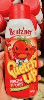 Bautz'ner Quetch'up Tomatenketchup 35% weniger Zucker u Salz 450ML