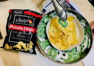 Bell Apfelringe und Chips mit Apfelringen-Geschmack SnackEx 2019