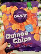 Davert Bio Quinoa Chips mit 3% Chia Wild Paprika nicht frittiert