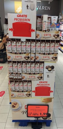 Ferrero Giotto Display gratis probieren