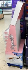 Ferrero Yogurette Display seitlich