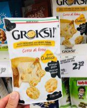 Groski! Cotto al forno Käsesnack mit Grana Padano 60 Gramm
