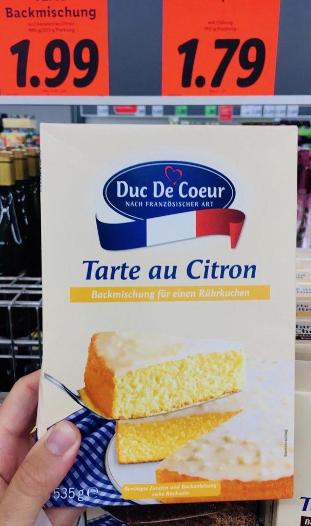 Lidl Duc De Coeur Tarte au Citron 535 Gramm