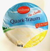 Lidl Milbona Quark-Traum Der Leichte Vanille o,2% Fett