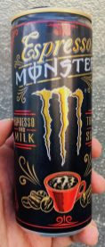Monster Energydrink Espresso+Milk Dose